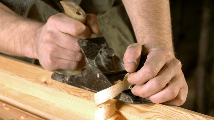 En snedker og hans værktøj